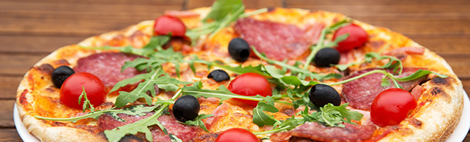 | Spezial Pizzen